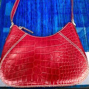Liz Clairborne Alligator Pattern Bag